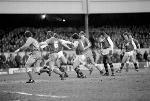 English League Division One match at Highbury. Arsenal 2 v Swansea City 1. January 1983 LF12-04-010